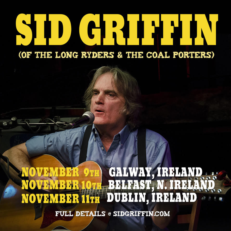 Sid Irish Tour